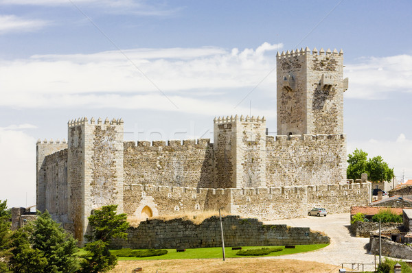 Sabugal Castle, Beira Province, Portugal Stock photo © phbcz