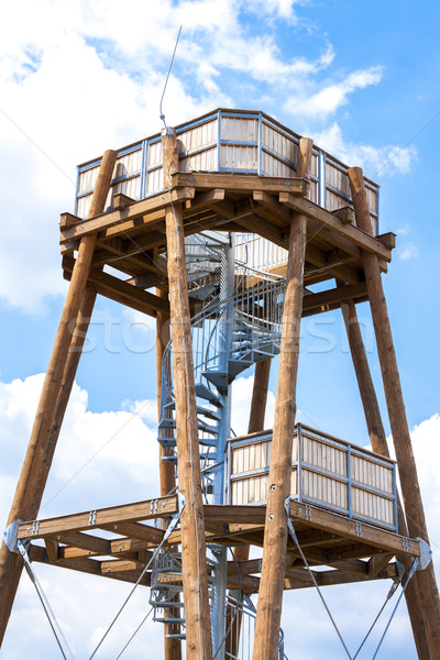 lookout tower, Drnholec, Czech Republic Stock photo © phbcz