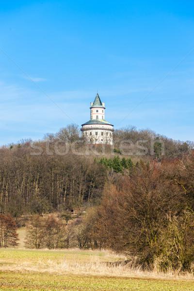 Kastély Csehország épület utazás építészet Európa Stock fotó © phbcz