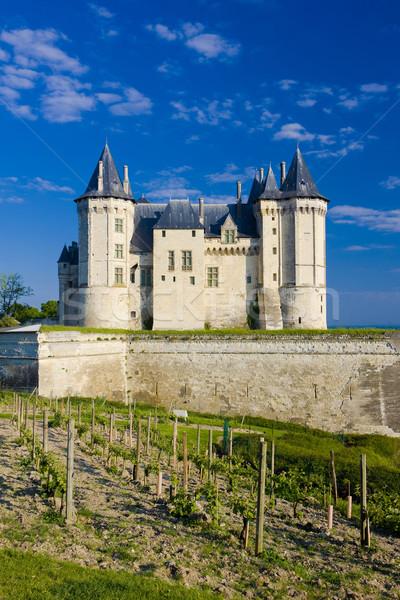 Chateau de Saumur, Pays-de-la-Loire, France Stock photo © phbcz