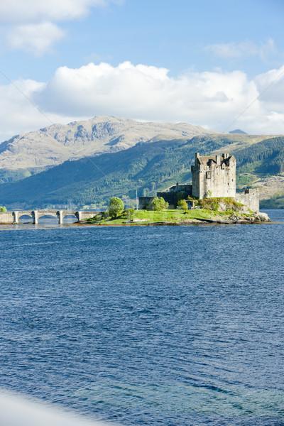 Eilean Donan Castle, Loch Duich, Scotland Stock photo © phbcz
