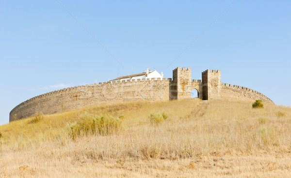 Arraiolos Castle, Alentejo, Portugal Stock photo © phbcz