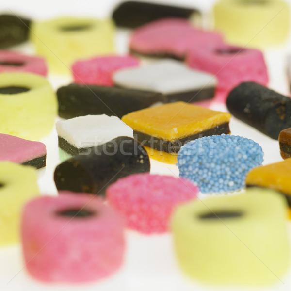 Lukrecja jedzenie środowisk słodycze niezdrowy Zdjęcia stock © phbcz