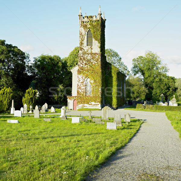 Irlanda edificio viaje arquitectura Europa graves Foto stock © phbcz