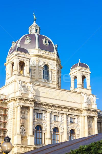 Museum natuurlijke geschiedenis Wenen Oostenrijk gebouw Stockfoto © phbcz