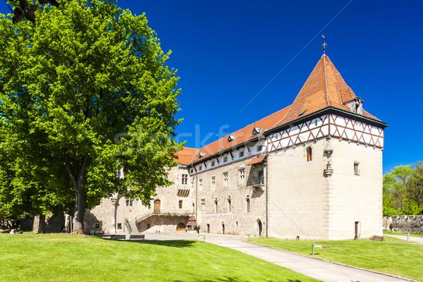 Palácio República Checa edifício arquitetura europa história Foto stock © phbcz