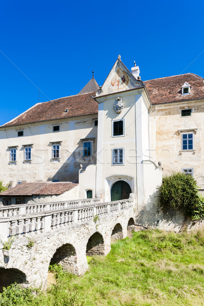 Palace of Oberheflein, Lower Austria, Austria Stock photo © phbcz