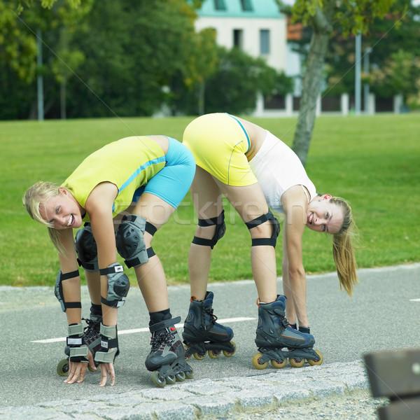 inline skaters Stock photo © phbcz
