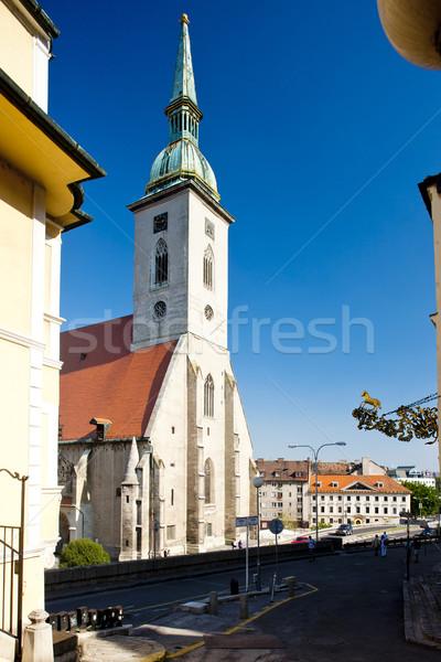 Catedrală Bratislava Slovacia oraş biserică Imagine de stoc © phbcz