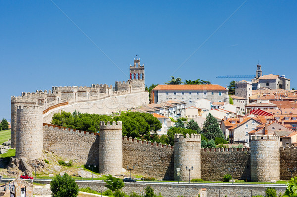 Avila, Castile and Leon, Spain Stock photo © phbcz