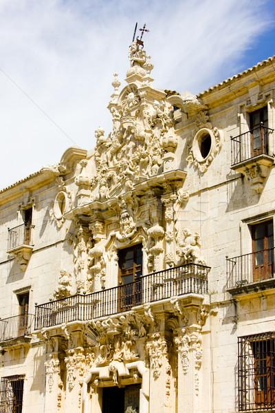Сток-фото: монастырь · Испания · здании · архитектура · история · Открытый