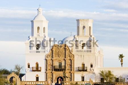 ミッション アリゾナ州 米国 教会 アーキテクチャ 宗教 ストックフォト © phbcz