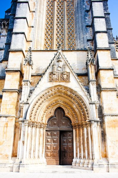 Monastery of Santa Maria da Vitoria, Batalha, Estremadura, Portu Stock photo © phbcz
