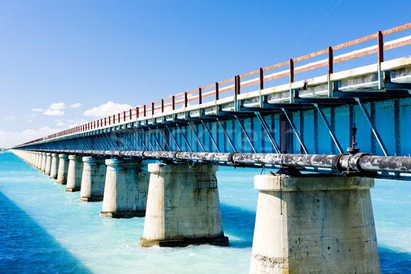 road bridge connecting Florida Keys, Florida, USA Stock photo © phbcz