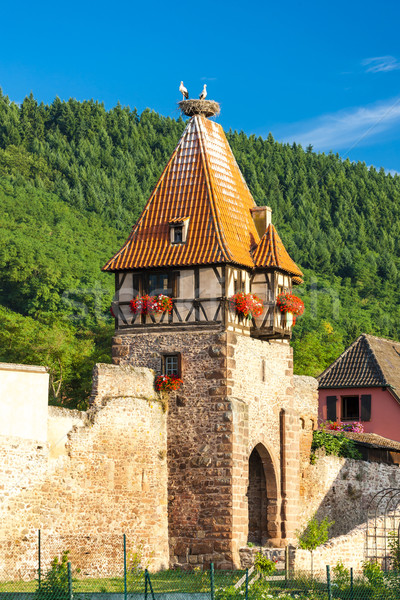Chatenois, Alsace, France Stock photo © phbcz