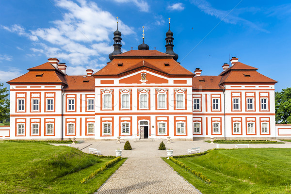 Stock photo: cistercian priory, Mariansky Tynec, Czech Republic