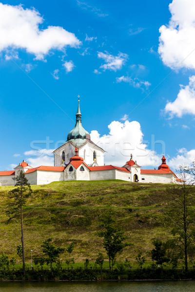 Zelena Hora near Zdar nad Sazavou, Czech Republic Stock photo © phbcz