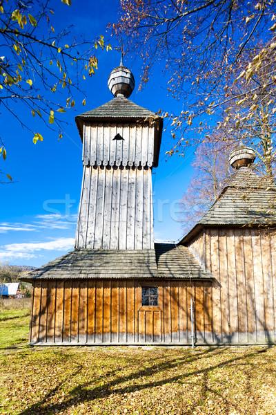 wooden church, Jedlinka, Slovakia Stock photo © phbcz