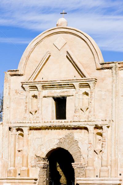 Arizona USA templom építészet küldetés kint Stock fotó © phbcz