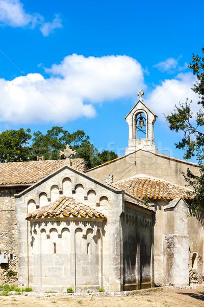 Kaplica Francja podróży architektury religijnych odkryty Zdjęcia stock © phbcz