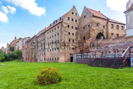 Médiévale Pologne maison bâtiment ville architecture Photo stock © phbcz