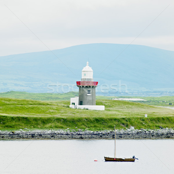 lighthouse, Rosses Point, County Sligo, Ireland Stock photo © phbcz