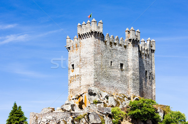 Penedono Castle, Beira Province, Portugal Stock photo © phbcz
