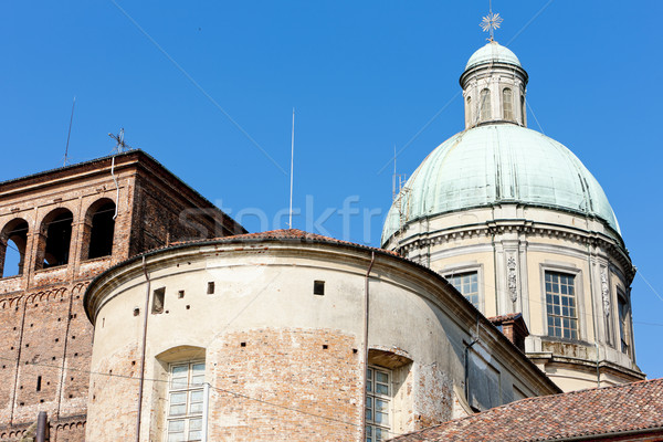 cathedral in Vercelli, Piedmont, Italy Stock photo © phbcz