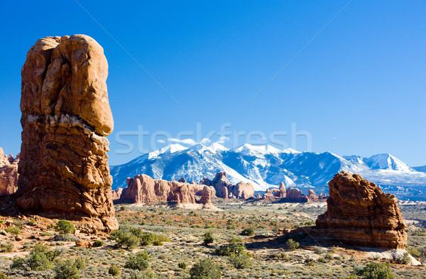 Parku la góry Utah USA krajobraz Zdjęcia stock © phbcz