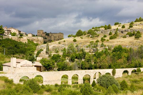 Pedraza de la Sierra, Segovia Province, Castile and Leon, Spain Stock photo © phbcz