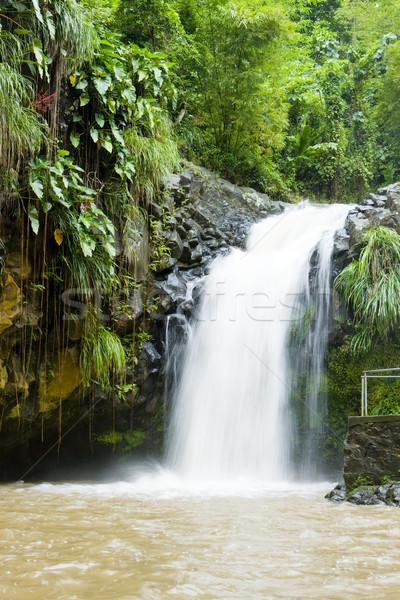 Grenada víz utazás ősz folyam zuhan Stock fotó © phbcz