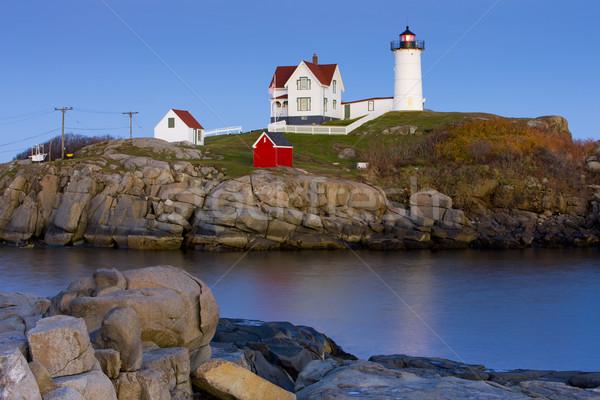 Zdjęcia stock: Latarni · Maine · USA · budynku · bezpieczeństwa · ocean