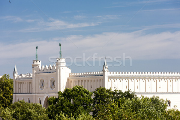 Castelo Polônia edifício cidade viajar cidade Foto stock © phbcz