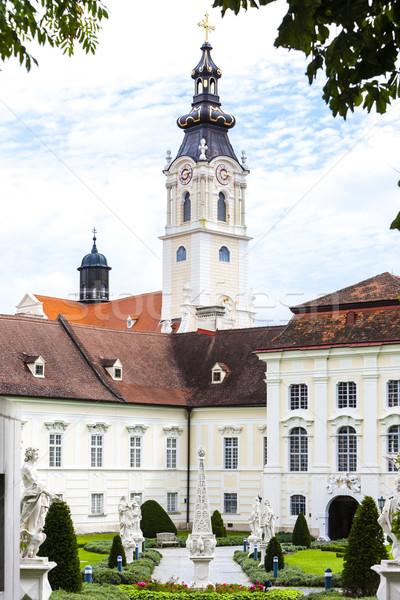 монастырь саду снизить Австрия здании архитектура Сток-фото © phbcz