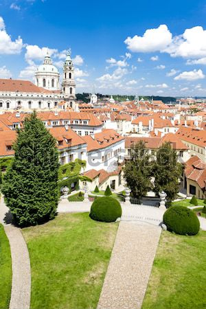 Jardin palais baisser Autriche usine Europe Photo stock © phbcz