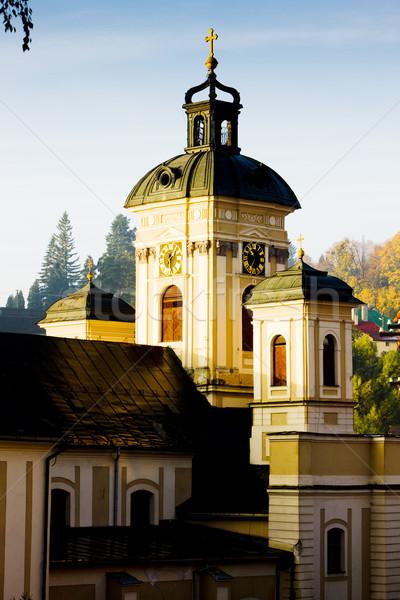 Church of St. Mary, Banska Stiavnica, Slovakia Stock photo © phbcz