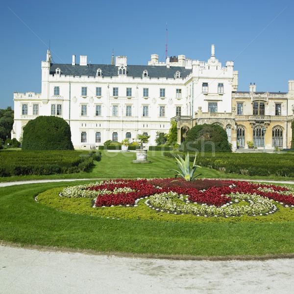 Lednice chateau, Czech Republic Stock photo © phbcz