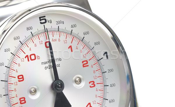 detail of kitchen scale Stock photo © phbcz