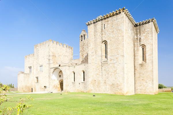 former monastery Flor da Rosa, Alentejo, Portugal Stock photo © phbcz