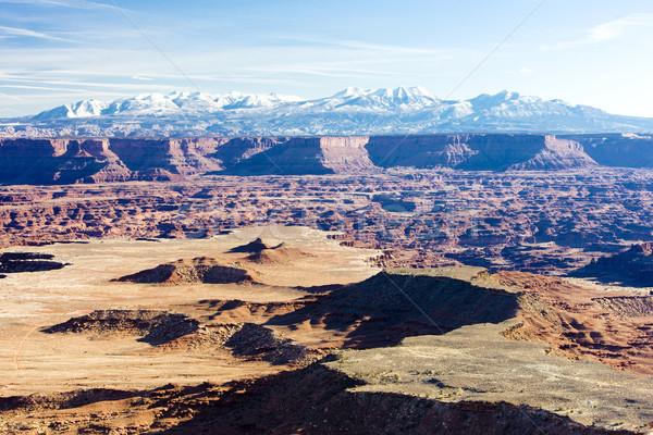 Park Utah ABD manzara dağlar kayalar Stok fotoğraf © phbcz
