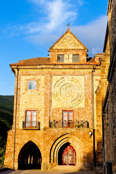 Nuestra Senora de Valvanera Monastery, La Rioja, Spain Stock photo © phbcz