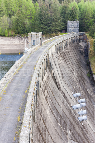 Loch Laggan dam, Highlands, Scotland Stock photo © phbcz