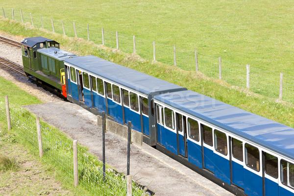 狭い ゲージ 鉄道 イングランド 列車 ヨーロッパ ストックフォト © phbcz