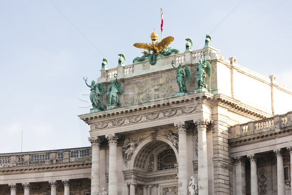 New Hofburg Imperial Palace, Vienna, Austria Stock photo © phbcz