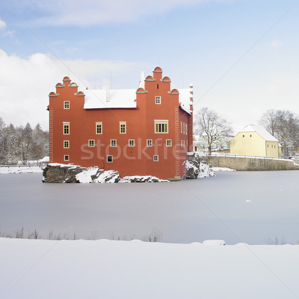 Cervena Lhota chateau, Czech Republic Stock photo © phbcz