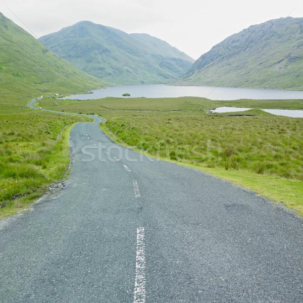 Stock photo: Doo Lough Pass, County Mayo, Ireland