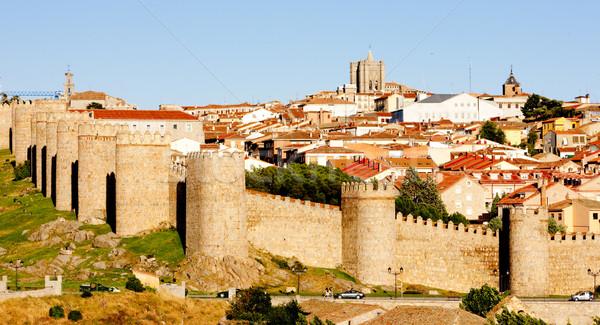 Avila, Castile and Leon, Spain Stock photo © phbcz