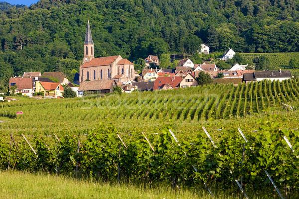 Eguishem, Alsace, France Stock photo © phbcz