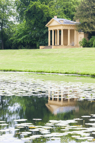 Western Lake Pavilion, Stowe, Buckinghamshire, England Stock photo © phbcz