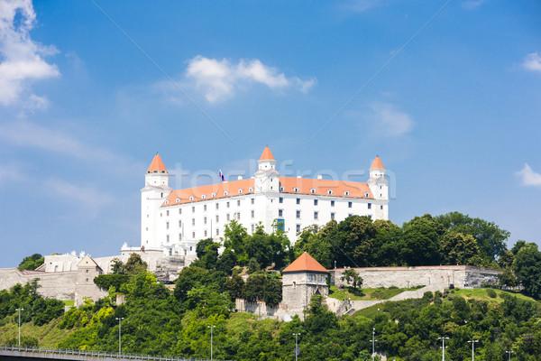 Bratislava Castle, Slovakia Stock photo © phbcz